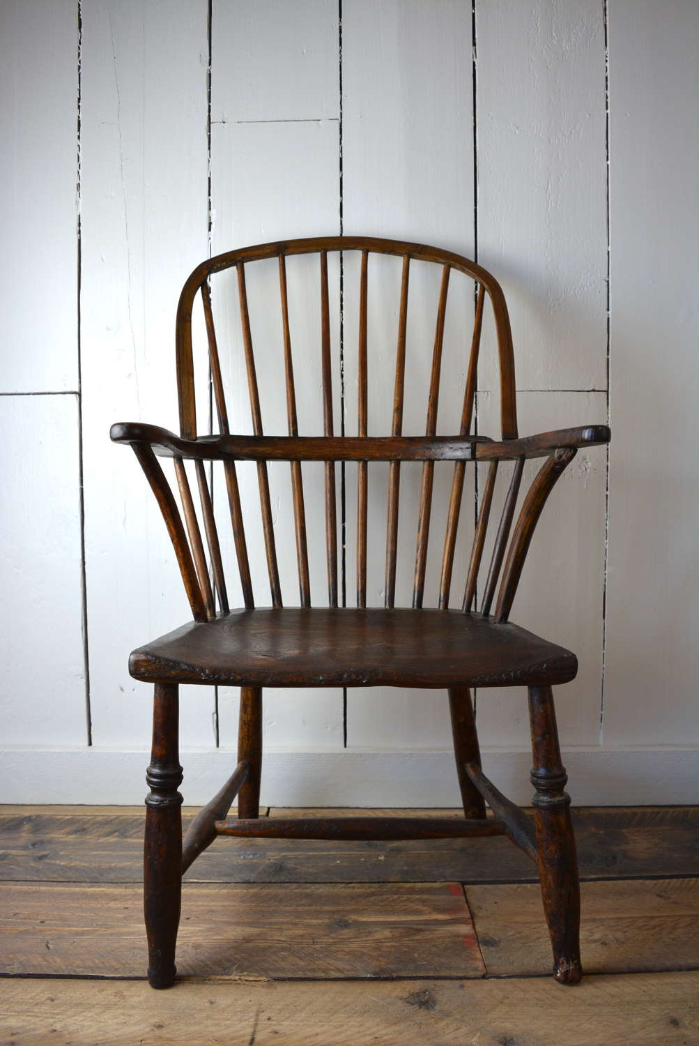 19TH CENTURY NAIVE WINDSOR CHAIR
