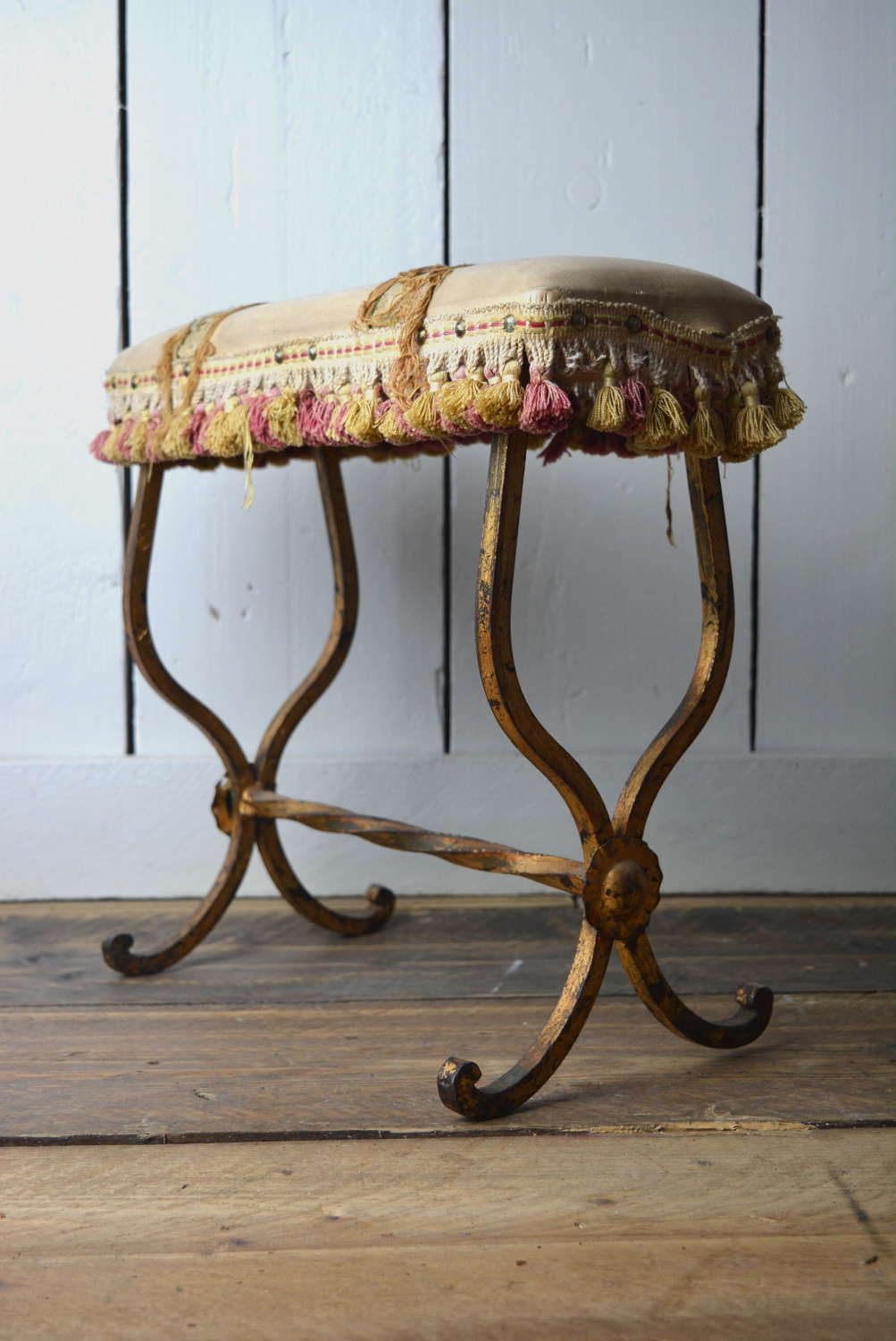 LATE 19TH CENTURY FRENCH FOOT STOOL