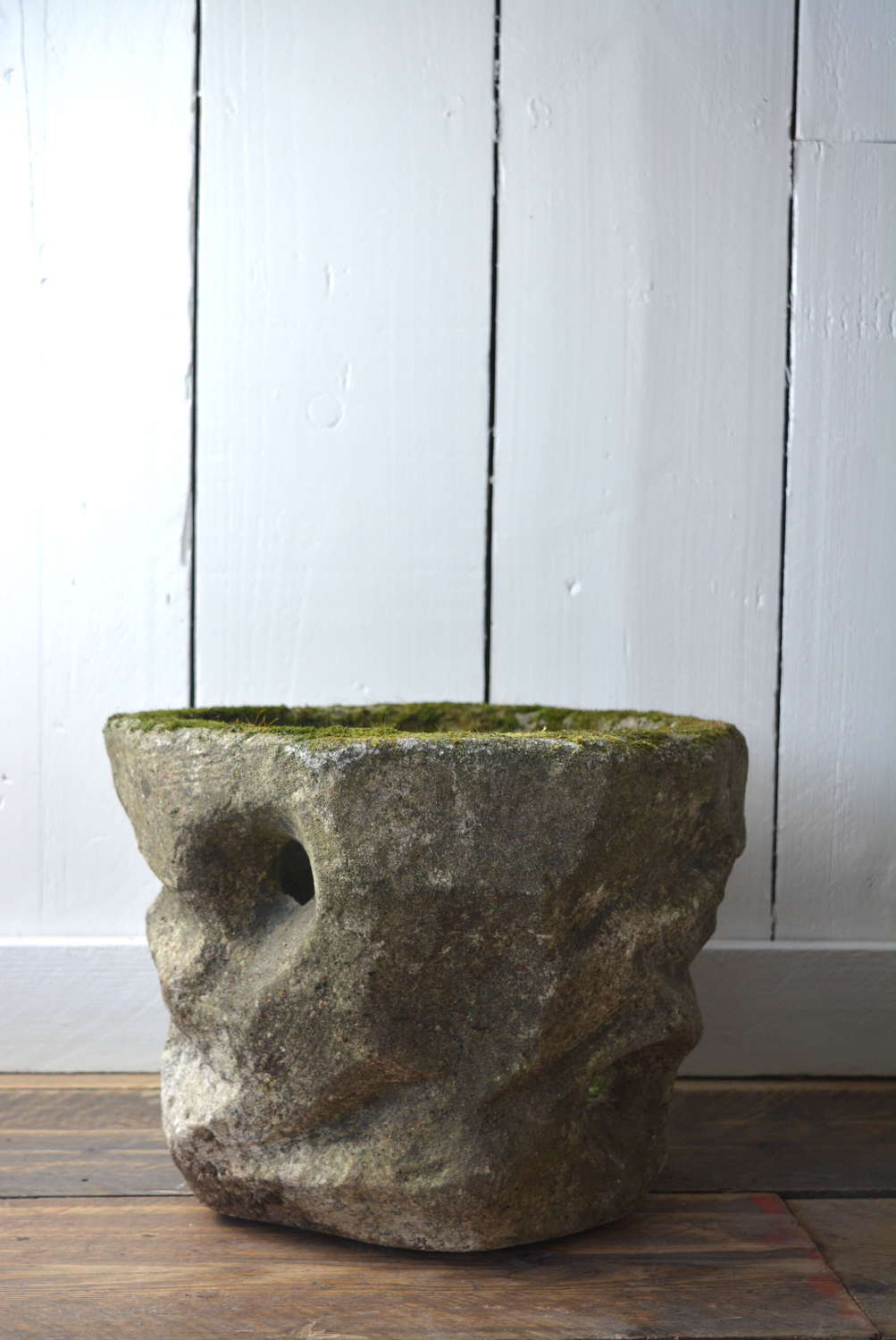 OLD STONE ORCHID POT