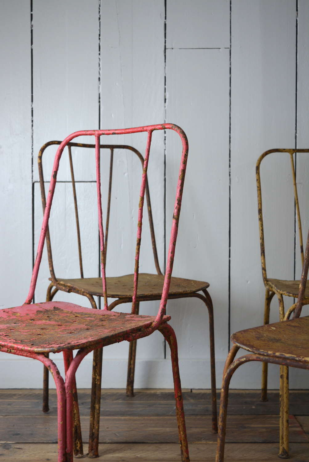 WROUGHT IRON FRENCH GARDEN CHAIRS