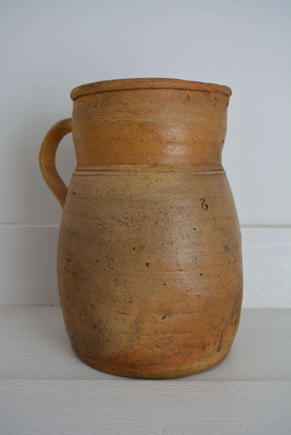 19TH CENTURY FRENCH STONEWARE JUG