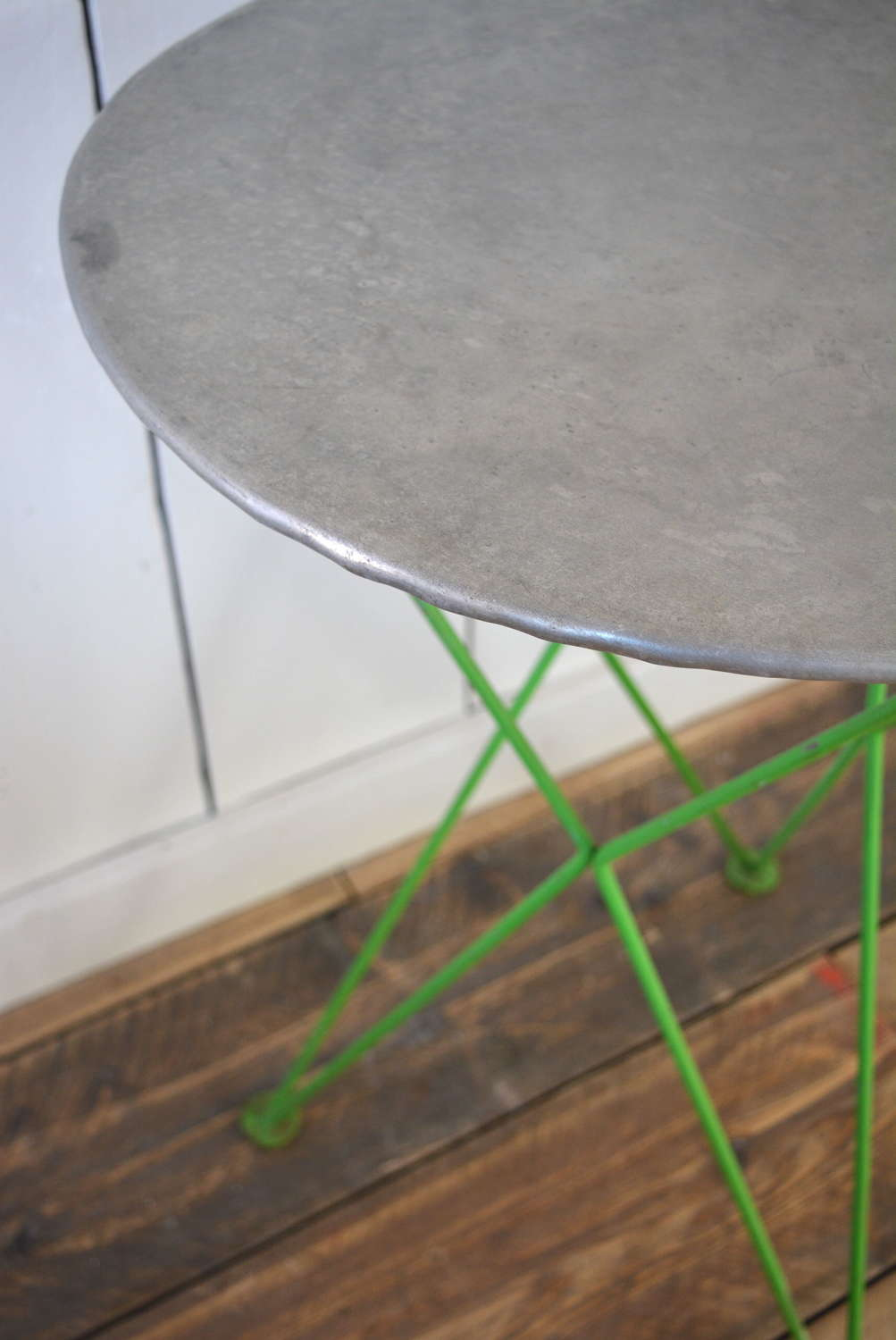 ZINC TOP FRENCH WINE TABLE