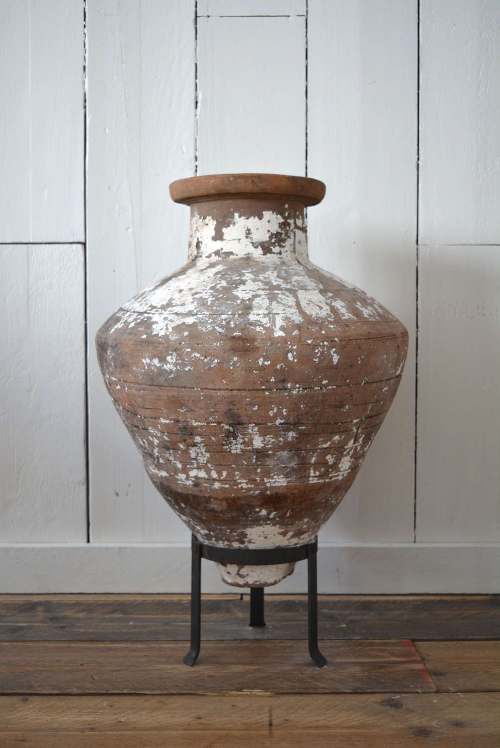 EARLY 20TH CENTURY TURKISH OLIVE POT