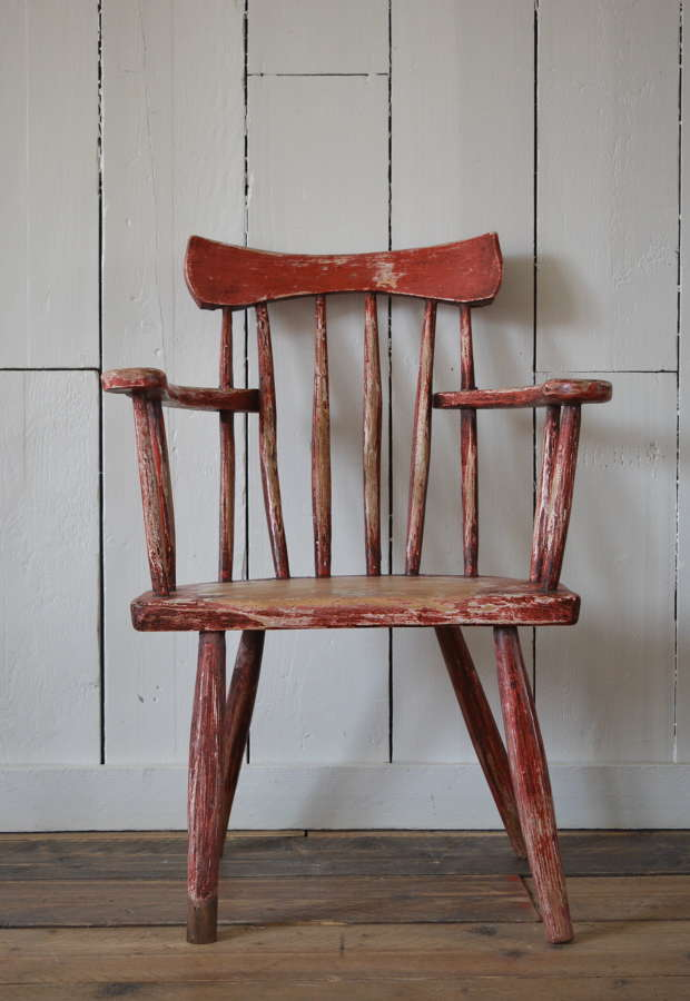 19TH CENTURY IRISH GIBSON CHAIR
