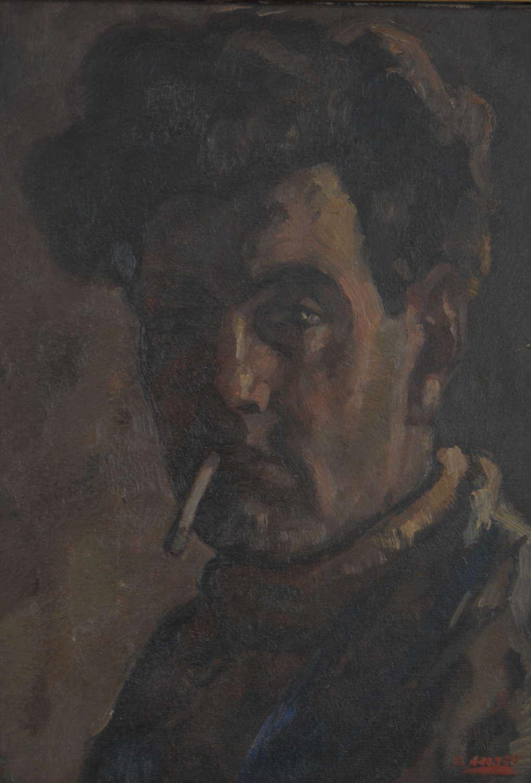SELF PORTRAIT BY BERNARDUS CORNELIUS