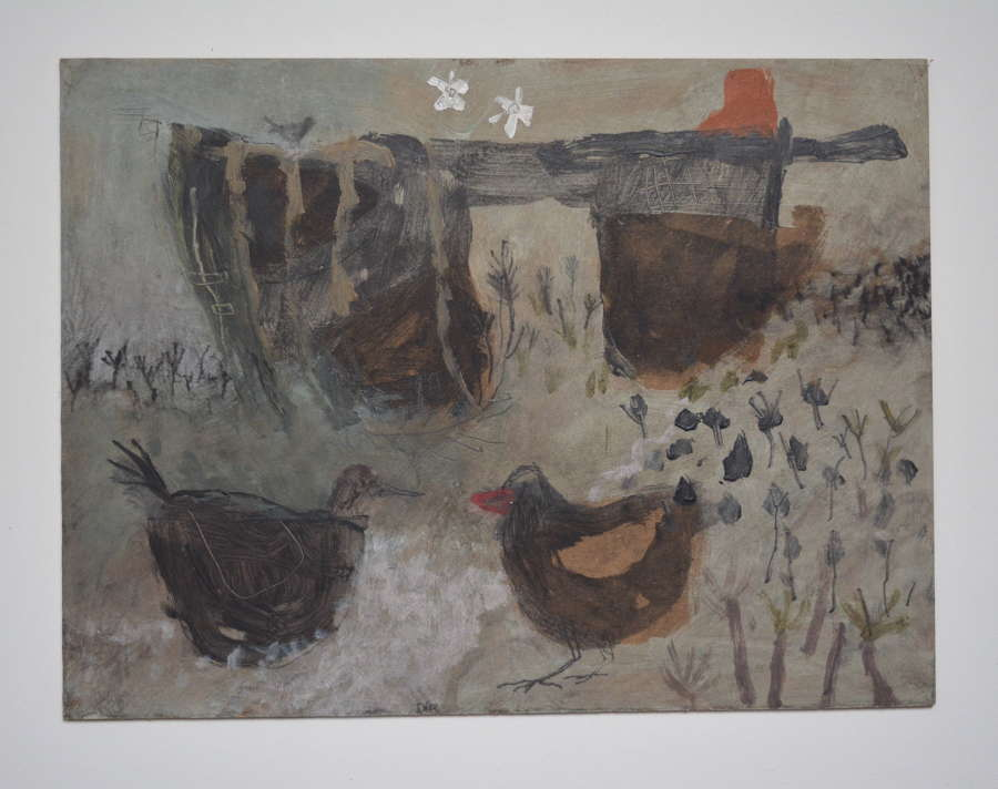 CHICKENS BY DAVID PEARCE