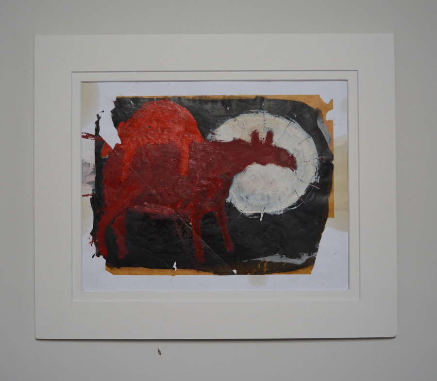 AN ABSTRACT STUDY OF COWS BY KATE WALTERS