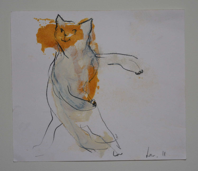 CAT BY KAREN LORENZ