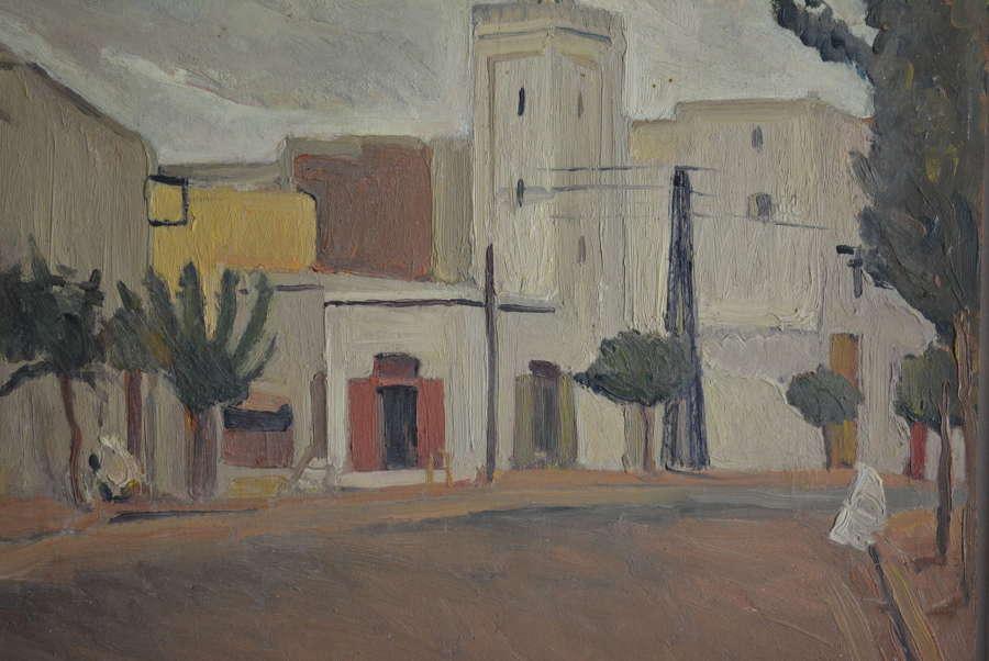 CORRADO RUSSO (1910-1981) 'GLIMPSE OF THE COUNTRY'