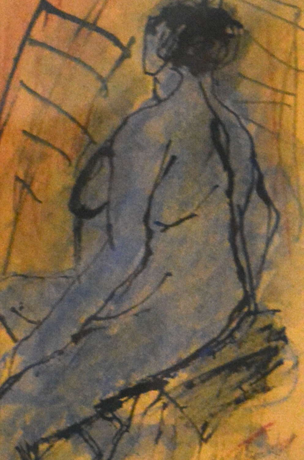 NUDE STUDY BY NAN FRANKEL