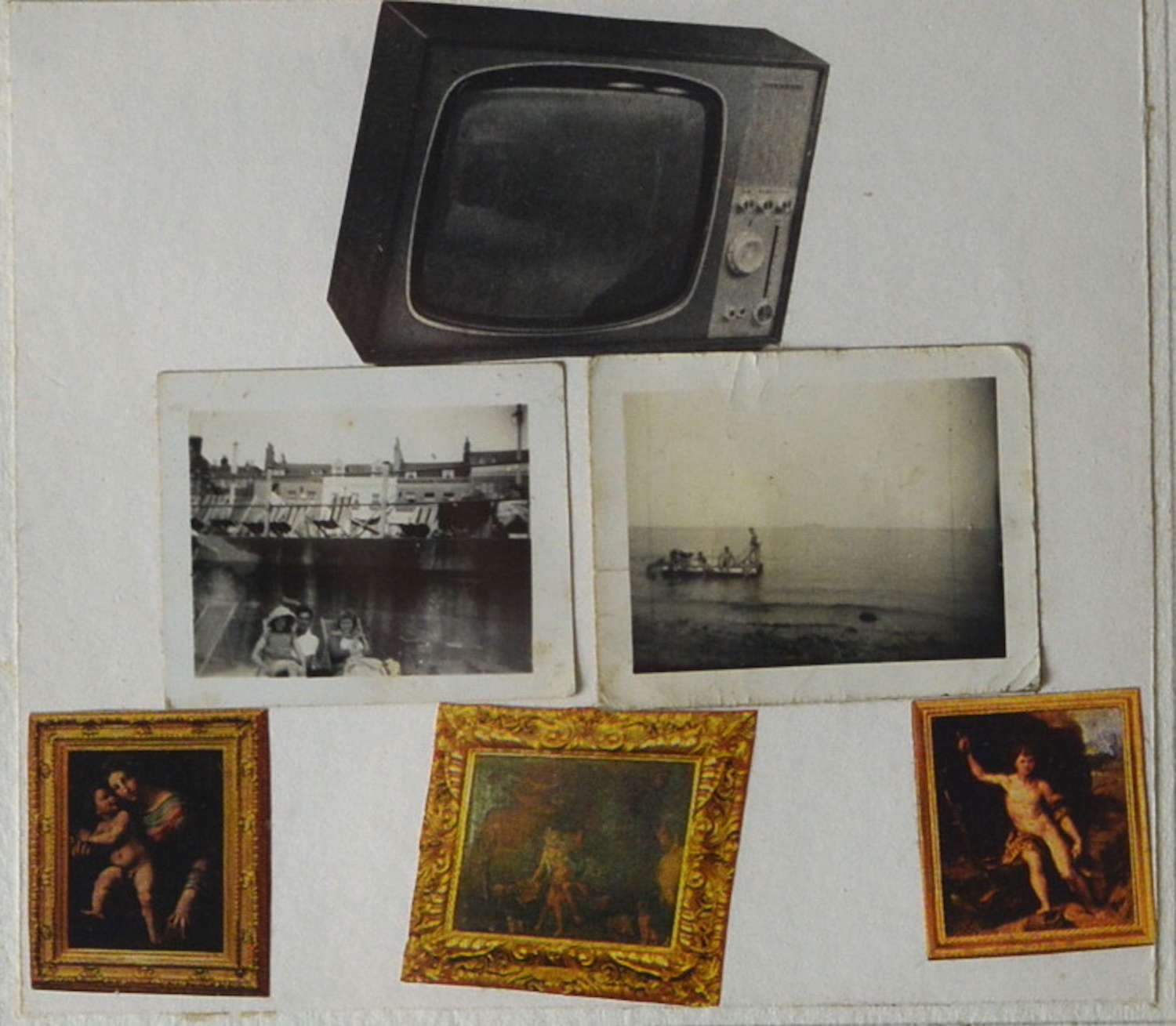 MIXED MEDIA STUDY BY ANDREW LANYON