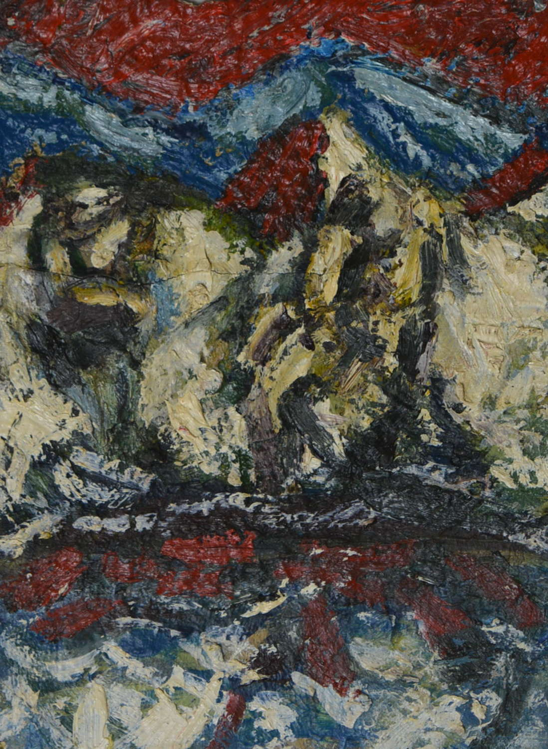 IVAN BRAY ABSTRACT LANDSCAPE