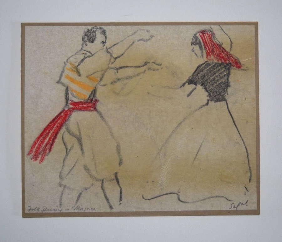 HYMAN SEGAL 'FOLK DANCING MAJORCA'