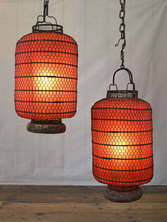 MID TO LATE 20TH CENTURY CHINESE LANTERNS