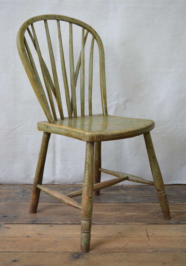 EARLY 18TH CENTURY YEALMPTON CHAIR